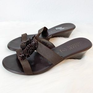 Italian Shoemakers Brown Sandal 12
